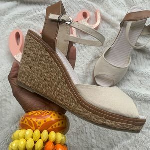 ⭕️CLEAROUT⭕️Espadrille woven Wedge Sandals
